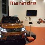 Mahindra XUV Aero front at Automobile Barcelona