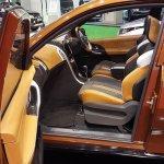 Mahindra XUV Aero front cabin at Automobile Barcelona