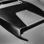 Mahindra XUV500 Mad Men custom accessories hood scoop