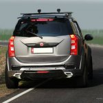Mahindra XUV500 Mad Men custom accessories rear