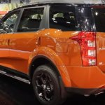 Mahindra XUV500 special edition rear three quarters