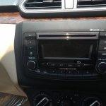 Maruti Dzire 'V' variant audio system spied