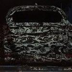 Mazda CX-8 rear spy shot