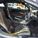 McLaren 720S cabin at BIMS 2017