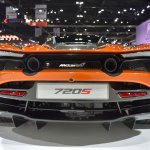 McLaren 720S rear at BIMS 2017