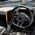 McLaren 720S steering wheel at BIMS 2017