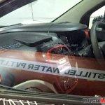 Renault Captur dashboard spied up close India