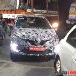 Renault Captur front spied up close India
