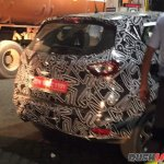 Renault Captur rear spied up close India