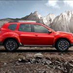 Renault Duster Petrol CVT side launched
