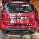 Renault Duster Xtronic CVT rear spied at dealership