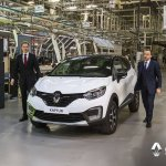 Renault Kaptur at Moscow plant