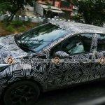 Renault Kaptur left side spy shot Chennai