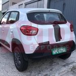 Renault Kwid spotted Brazil rear quarter final pre-launch tests