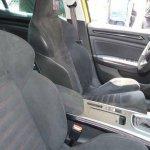 Renault Megane RS 2018 sport seats and red stitching