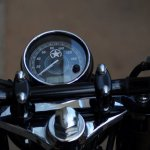 Royal Enfield Americana by Bulleteer Customs shield instrumentation