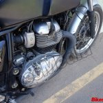 Royal Enfield Continental GT 750 engine spy shot