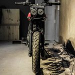 Royal Enfield Himalayan Scrambler by Grid7 Customs front