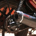 Royal Enfield Thunderbird 350 X350 by Haldankar Customs exhaust