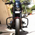 Royal Enfield Thunderbird 350 X350 by Haldankar Customs front headlamp