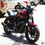 Royal Enfield Thunderbird 350 X350 by Haldankar Customs front three quarter
