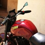 Royal Enfield Thunderbird 350 X350 by Haldankar Customs fuel tank
