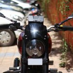 Royal Enfield Thunderbird 350 X350 by Haldankar Customs headlamp