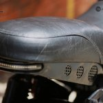 Royal Enfield Thunderbird 350 X350 by Haldankar Customs pillion seat