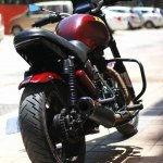 Royal Enfield Thunderbird 350 X350 by Haldankar Customs rear three quarter