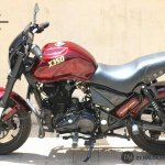 Royal Enfield Thunderbird 350 X350 by Haldankar Customs side left