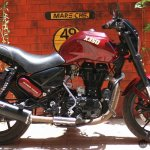 Royal Enfield Thunderbird 350 X350 by Haldankar Customs side right