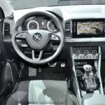 Skoda Karoq dashboard driver side