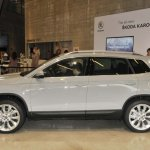 Skoda Karoq left side