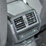 Skoda Karoq rear HVAC vents