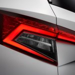 Skoda Karoq tail lamp