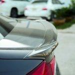 Suzuki Ciaz with Amotriz body kit rear spoiler side view