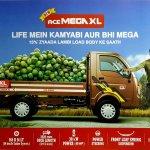 Tata Ace Mega XL brochure leaked side