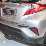 Toyota C-HR rear fascia