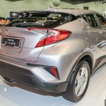 Toyota C-HR rear three quarters
