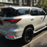 Toyota Fortuner with a 'Fiar Design' Body Kit rear three quarter