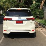 Toyota Fortuner with a 'Fiar Design' Body Kit rear