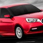 TuneD bodykit for Proton Saga front quarter