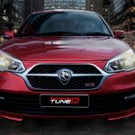 TuneD bodykit for Proton Saga front