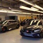 U.S.-spec 2017 Honda Civic Type R front three quarters