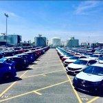 U.S.-spec 2017 Honda Civic Type R lot