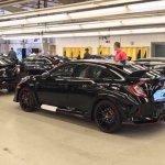 U.S.-spec 2017 Honda Civic Type R rear three quarters