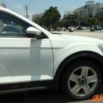 VW T-ROC side spotted with clever disguise in China