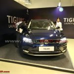 VW Tiguan front at dealer training