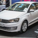 VW Vento ALLSTAR front three quarters
