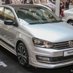 VW Vento GT front three quarters